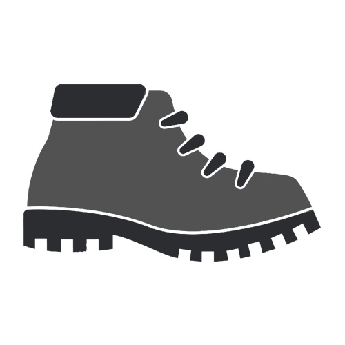 High-top safety shoes