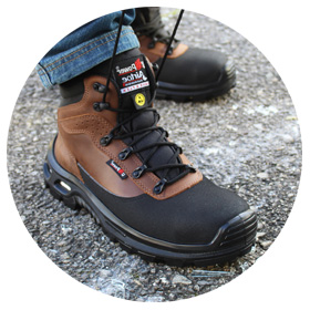 Winter safety shoes
