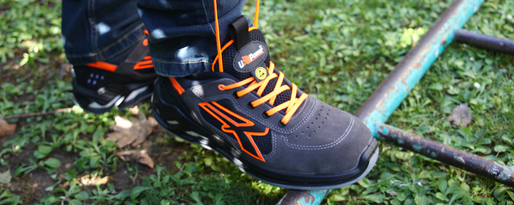 Discover the U-Power safety shoes