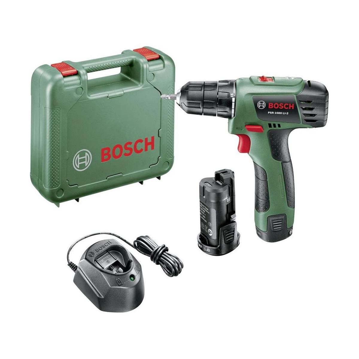 Uitzonderlijk Bosch PSR 1080 Li-2 Cordless Drill Driver 10,8V 3165140835718 | eBay JT12