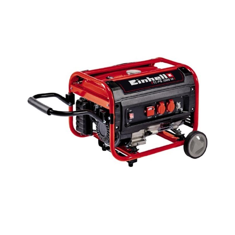 einhell 3.1 kw tc-pg 3500 w silent petrol generator 4006825620030 | ebay