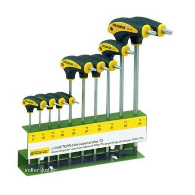 Set of 10 Torx Proxxon 22652 screwdrivers