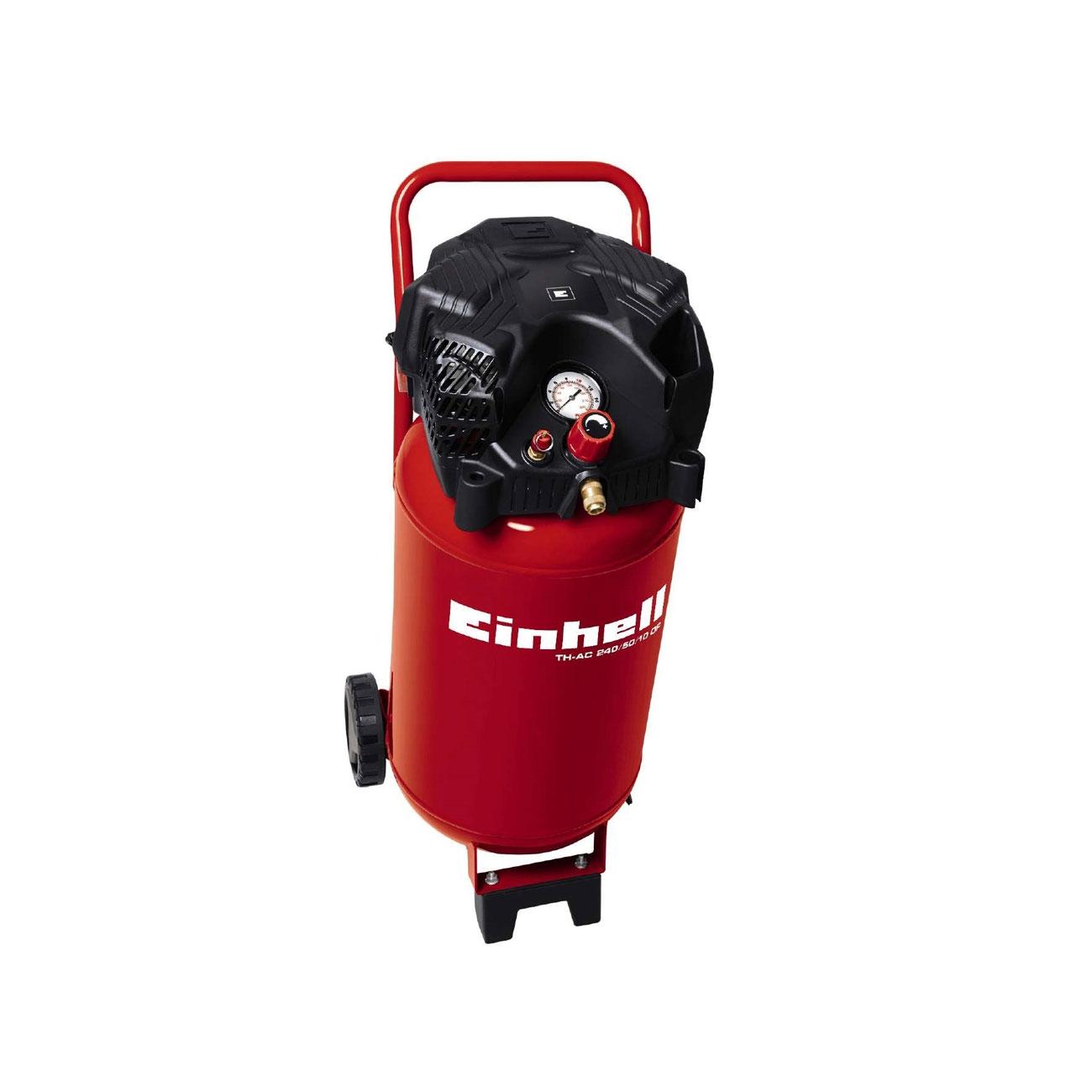 Einhell TH-AC 240/50/10 50L Vertical Air Compressor 240V