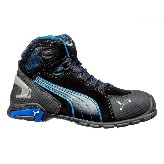 Puma Rio Black Mid S3 SRC High work shoes