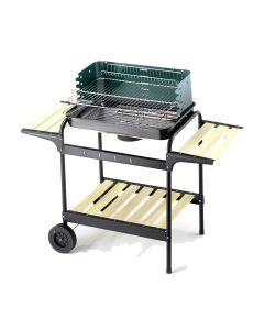 Ompagrill 60-40 Green/W Charcoal barbecue