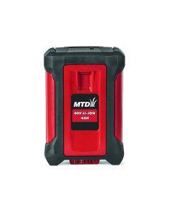 MTD 196-670-600 40V 4,0Ah  Lithium battery