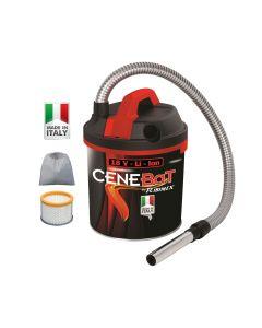 Ribimex Cenebat Cordless Ash Vacuum 18V 4 Ah
