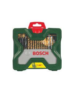 Set Bosch X-Line 40 pcs for drilling and screwing Titanium