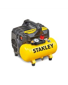Stanley DST 100/8/6 6 lt low-noise Portable air compressor