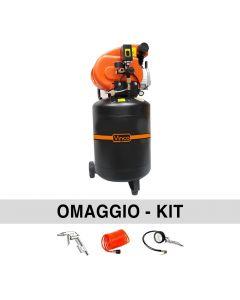 Vinco 60611 50 liters Vertical compressor