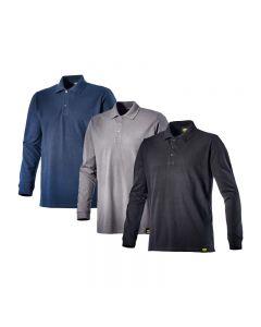 Diadora Utility ATLANTIS II Long-Sleeved Work Polo Shirt
