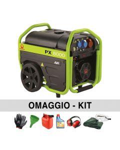 PRAMAC PX8000 Petrol Generator 400V