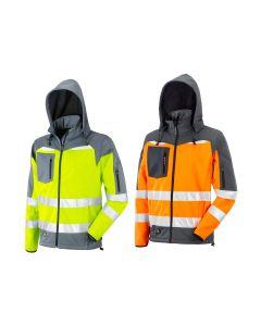 Neri Casilina High visibility softshell jacket