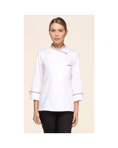 Giblor's  Stefania white art. 14P08G468 Chef Jacket