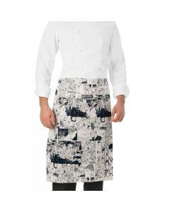 Giblor's Zagabria Fumetto 16P08H480 Kitchen apron