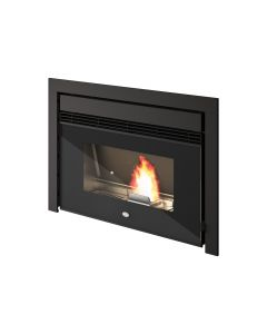 Eva Calor Nico 13kW Pellet fireplace insert with double ducting