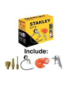 Stanley Kt 6 pcs pneumatic tools for air compressor