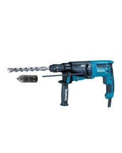 Makita HR2631FT Demolition Hammer - Self-locking spindle Homage