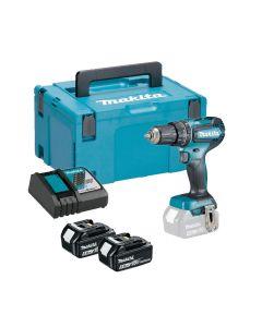 Makita DHP485RTJ percussion 18V cordless drill / driver