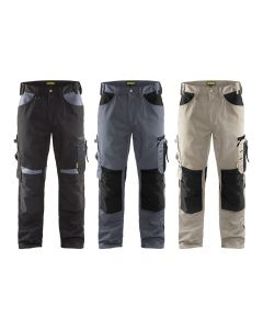 Blaklader 1556 Craftsman Work trousers without floating pockets