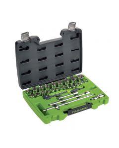 "Fasano FG 625 / S27 27 tools Set 1/2 ""square drive"