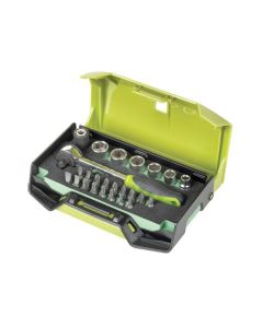 Fasano FG 624/S25Set of 6 socket wrenches with accessories