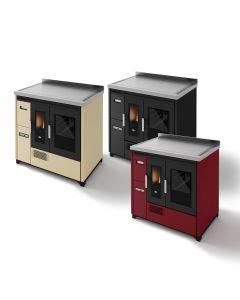 Eva Calor Enrica 9,3 kW Ventilated pellet kitchen stove