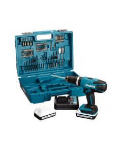 Makita HP457DWE10 18V percussion drill