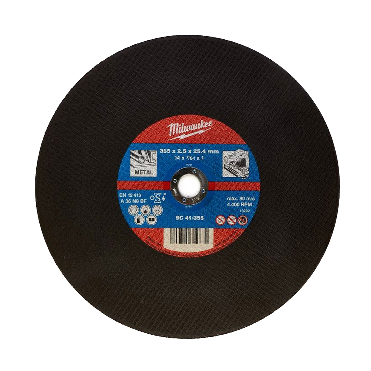 SC 41/355 diam. 355 mm Replacement disc for iron saw