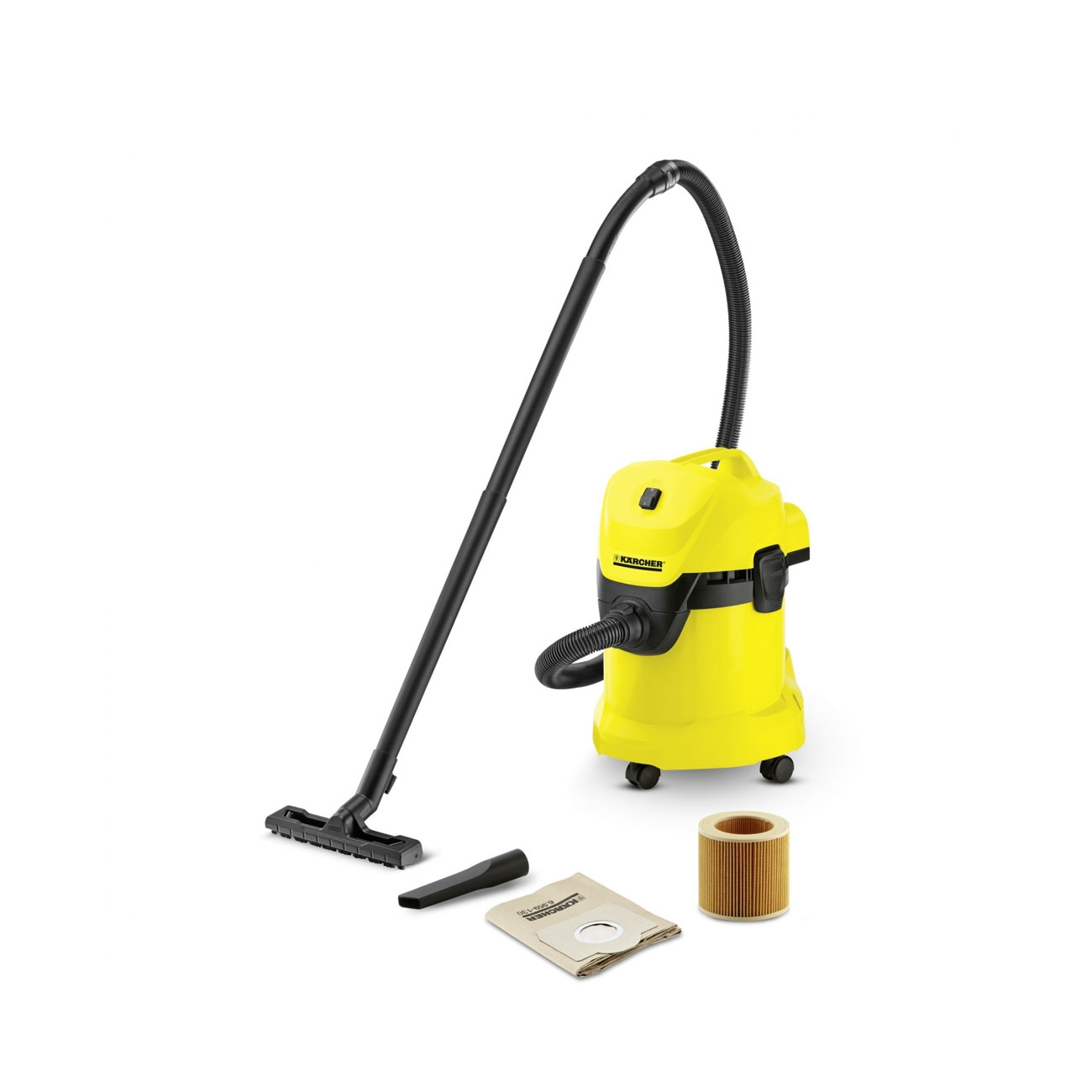 Karcher WD 3 Wet and Dry Vacuum Cleaner-1000 W