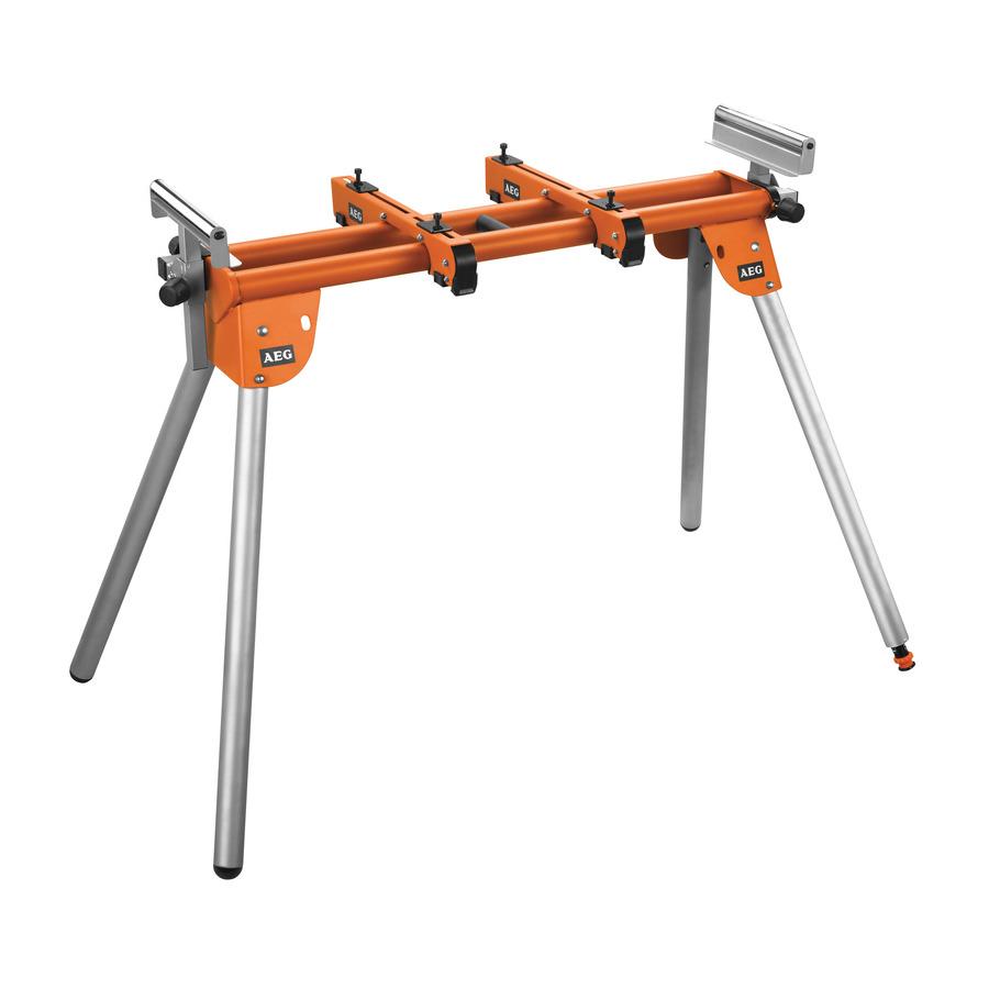 AEG 180 Kg per PSU 254 L - PSU 1000 Miter Saw Stand