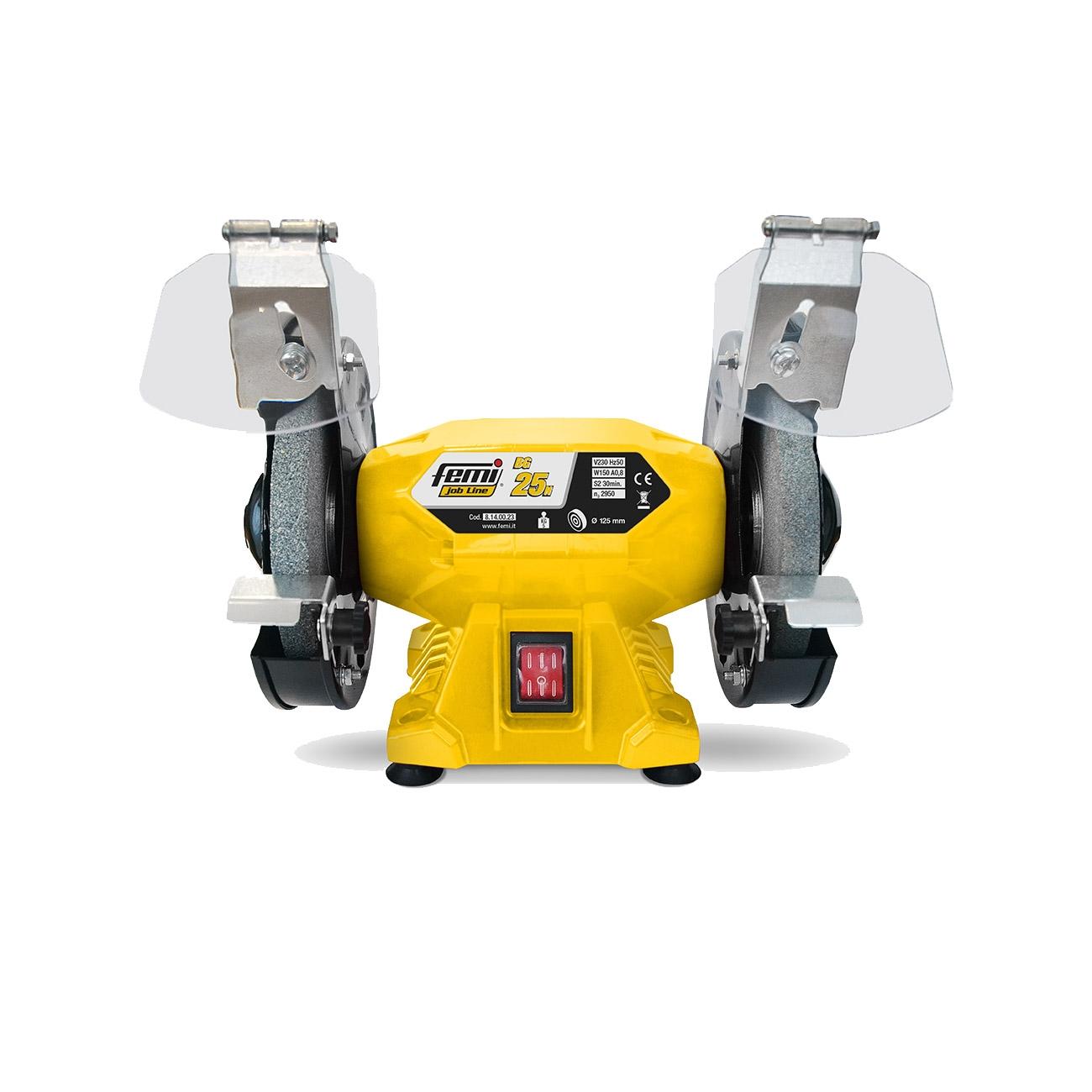 Femi BG 25 N bench grinding wheel, 125 mm grinding wheel