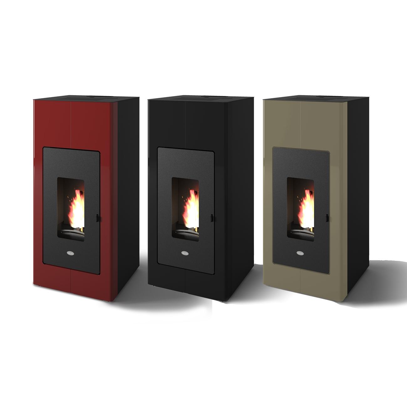 Ilaria Punto Fuoco Pellet stove Hydro 17,5 kw