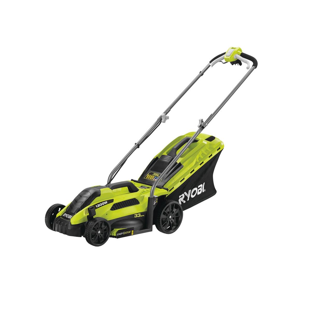 Ryobi electric lawn mower RLM13E33S