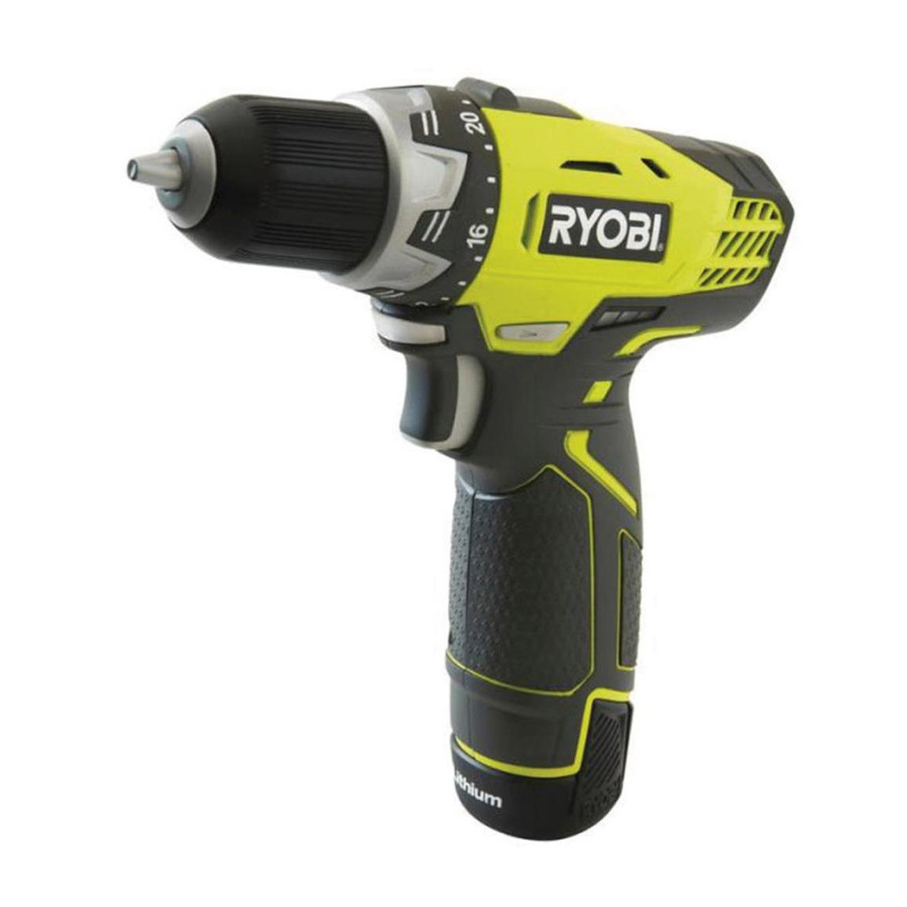 Ryobi R12DD-LL13S Cordless Screwdriver Drill