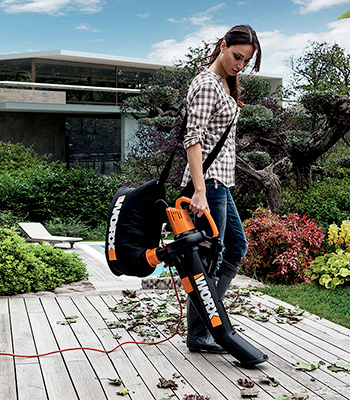 Electric blowers and vacuum