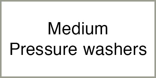 Medium pressure washers