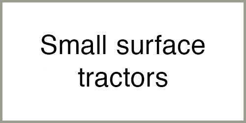 Small surface tractors