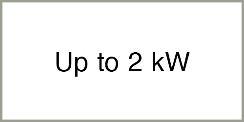 Up to 2 kw