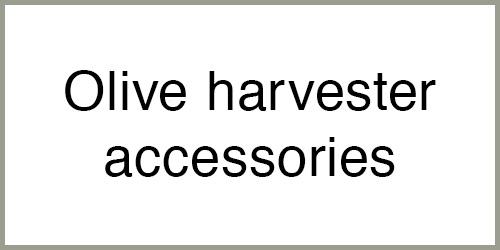 Olive harvester accessories
