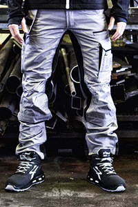 Multipocket work trousers