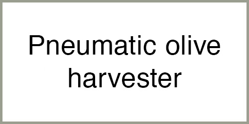 Pneumatic olive harvester