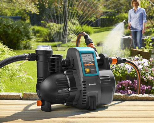 Surface water pump