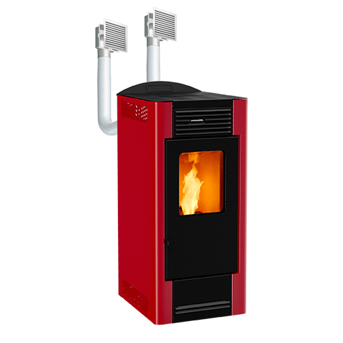 Ducted Pellet stoves