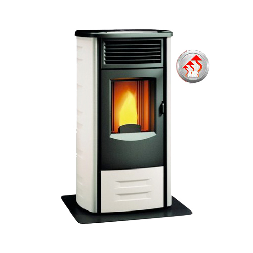 Ventilated pellet stoves